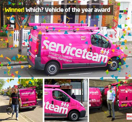 Serviceteam wins Which? Trusted Trader award