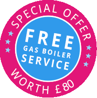 Special Offer Free Gas Service