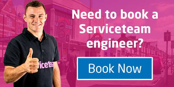 Book a Service with Serviceteam