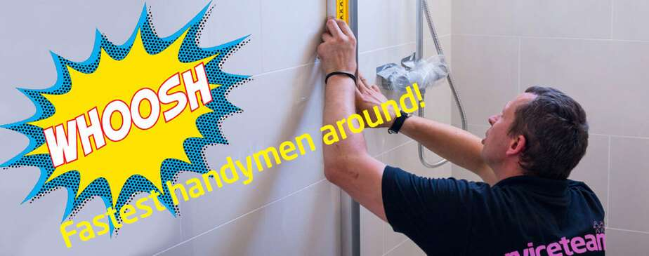 Get all those odd jobs done in a flash – hire our handyman service!