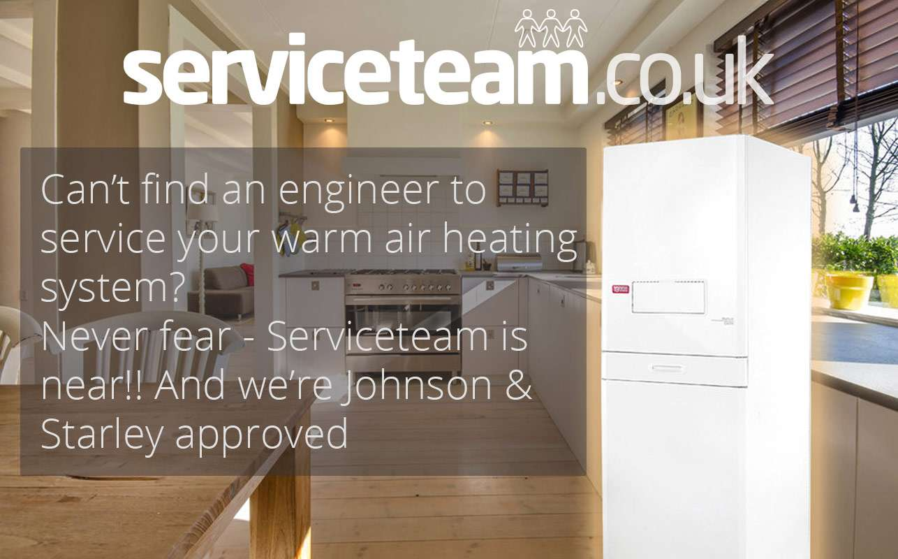 Warm Air Boiler Repair London – Serviceteam