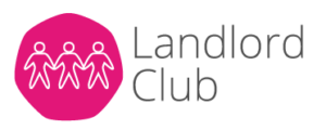 Service team landlord club logo