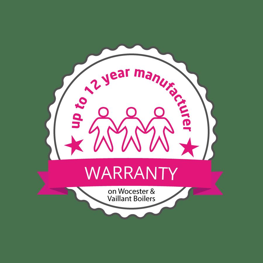 12-years manufacture Guarantee